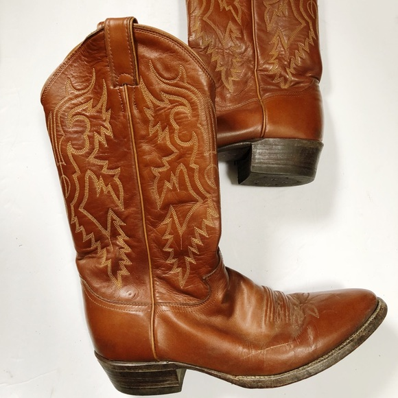 a3c673364e3e Justin Boots Shoes - Justin Women s Leather Cowboy Boots